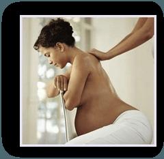 'mum to be' massage